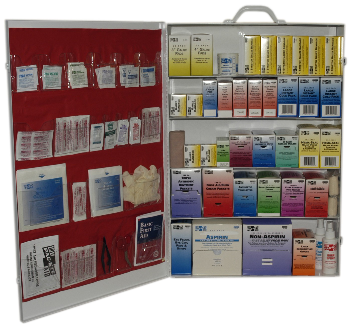 Pac-kit 6195 Five Shelf First Aid Station
