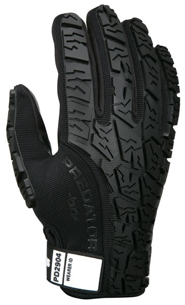 MCR Memphis PD2904 Predator Multi-Task Gloves Synthetic Leather Palm Tire Tread TPR on Back