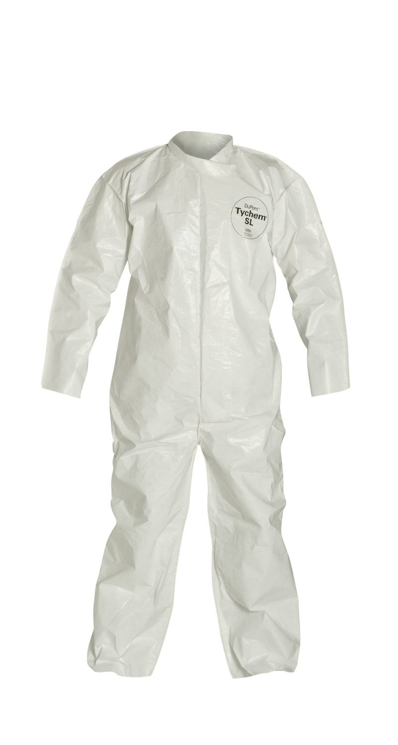 DuPont TyChem SL coverall - zipper front
