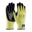 PIP 09-K1450 Kut-Gard Seamless Knit Kevlar/Lycra Gloves with Nitrile Coated Palm & Fingers - Heavy Weight