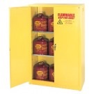 EAGLE MFG. 4 GAL. SAFETY STORAGE CABINET-YELLOW 1 DOOR