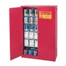 Eagle Manufacturing Paint and Ink Storage SHELF 60GAL CABINET W/TWO DOOR