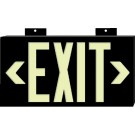 BRADY WHITE PHOTOLUM EXIT SIGN WALL MOUNTED