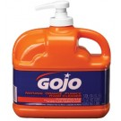 Gojo Natural Orange Pumice Lotion Hand Cleaner  1/2 Gallon 6/Case