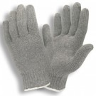 Cordova Safety 3411G Economy Weight Poly/Cotton Gray Machine Knit Gloves