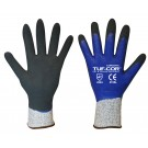 Cordova Safety 3725 Cordova Tuf-Cor Coated Gloves UHMWPE/Nylon/Spandex, Nitrile Coated, ANSI Cut Level 2