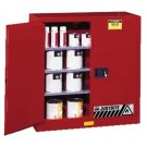 Justrite Safety Cabinets for Combustibles 40G CAB SC RD P&I SAFE EX