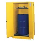 Justrite Yellow Safety Cabinets for Flammables 55G CAB MR YL FLAM VDRMEX