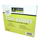 Cordova Safety 4100 Low Density Polyethylene Gloves 1.25 mil