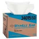 WYPALL X60 TERI WIPER 12.5X16.8 WHITE 180/BOX