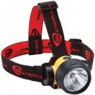 STREAM LIGHT TRIDENT HEADLAMP YELLOW WITH RUBBER STRAP