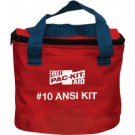10 person zip up soft pouch First Aid Kit.