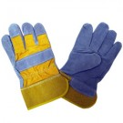 Cordova Safety 7205RY Shoulder Leather Rubberized Safety Cuff Gloves