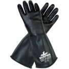 Memphis Gloves CP14R Butyl Gloves - 14 mil Textured Finish