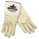 Memphis 4907 Red Ram Premium Grain Goatskin Leather - MIG/TIG Welders Gloves