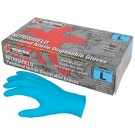 "Memphis Gloves - MCR Safety 6025 ""NitriShield"", 8 Mil, Industrial/Food Service Grade, Powdered,"