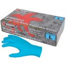 "Memphis Gloves - MCR Safety 6030 ""NitriShield"", 8 Mil, Industrial/Food Service Grade, Powder Free"