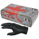 "Memphis Gloves - MCR Safety 6060 ""NitriShield Stealth"", Black, Industrial/Food Service Grade, Pow"