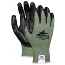 MCR Memphis Glove  Dyneema Blended Shell Coated Palm and Fingertips Green 9672APG