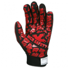 MCR Memphis FT2906 TPR Back of Hand HPPE Lined Synthetic Leather Palm Red Silicone Tire Tread Grip
