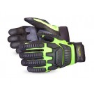 Superior Glove MXVSBPB Clutch Gear® Impact Protection Mechanics Glove Lined with Punkban