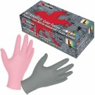 Memphis Gloves - MCR Safety 6010GYP NitriShield Color Fusion - Powder Free - Disposable Gloves - Gray and Pink
