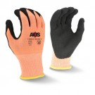 Radians RWG559 AXIS Cut Protection Level A6 Sandy Nitrile Coated Glove