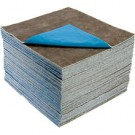 "Evolution Sorbent XUCGPL-PLY Ultraclean extra heavy weight universal poly-backed pad 16""x18"" 100 pads per box"